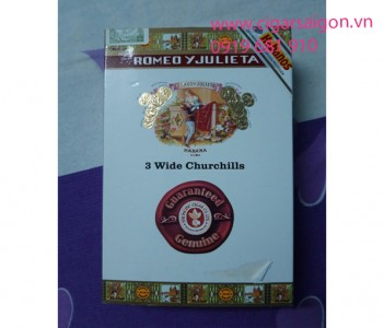 Romeo y Julieta Wide Churchill Tubos (3s)