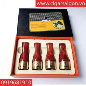 Tẩu hút xì gà Cohiba N003, bắt tóp xì gà cohiba
