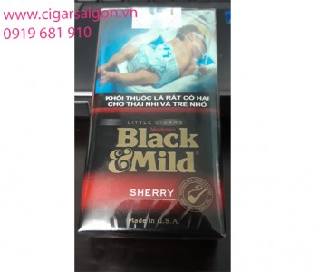 xì gà Black mild mini cherry