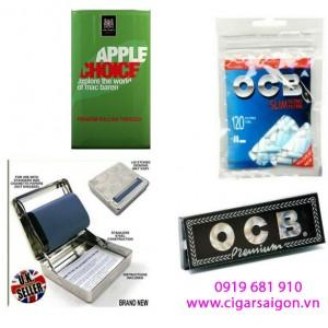 Bộ thuốc lá cuốn tay Mac Baren Apple Choice