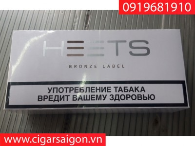 Thuốc lá điện tử Heets IQOS Bronze Label-Nga