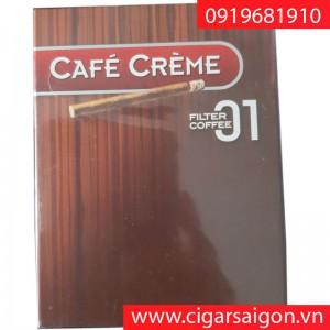 Xì gà Café Crème Filter Coffee hộp giấy