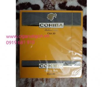 Xì gà Mini Cohiba Club hộp 20 điếu, cohiba club 20