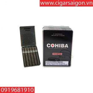 Xì gà Cohiba Black Pequenos hộp đen 6 điếu (Cohiba hộp 6 điếu)