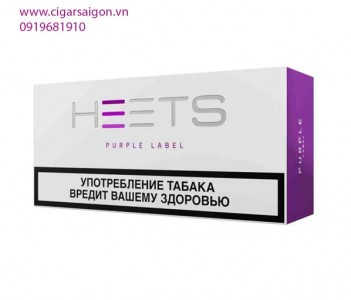 Thuốc lá điện tử Heets IQOS Purple label-Nga