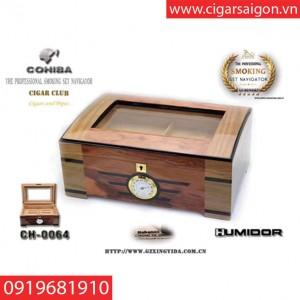Hộp Giữ Ẩm Xì Gà ( Humidor) CH-0064