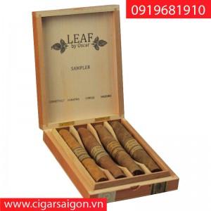 Xì Gà Leaf by Oscar Hộp Gỗ Sample 4's ring 52