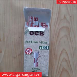 Đầu lọc thuốc lá cuốn tay Extra Slim OCB 120 hemp