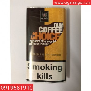 Thuốc lá cuốn tay Mac Baren Rum Coffee
