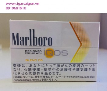 Thuốc lá điện tử Marlboro IQOS_blend_05_Vị Cam