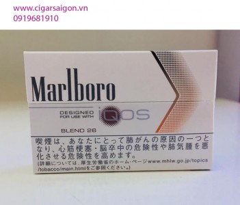 Thuốc lá điện tử Marlboro IQOS_Blend_26_ Vị cà phê