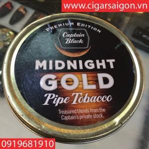 Thuốc Tẩu Hộp Captain Black - MIDNIGHT GOLD