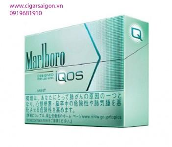 Thuốc lá điện tử Marlboro IQOS Mint _Vị bạc hà nhẹ