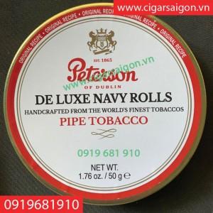 Thuốc hút tẩu Peterson de luxe Navy Rolls hàng dùng nội địa Mỹ