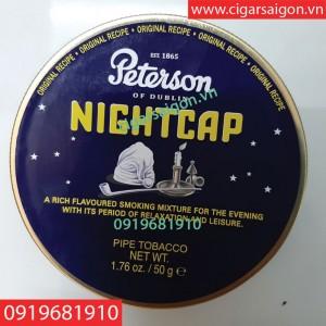 Thuốc hút tẩu Peterson Nightcap Hàng Đan Mạch Denmark