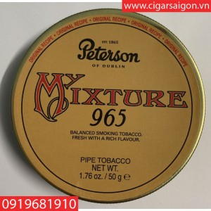 Thuốc hút tẩu Peterson Mixture 965 hàng Đan Mạch