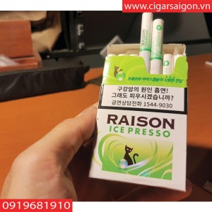Thuốc lá Raison Ice Presso
