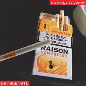 Thuốc lá Raison Sun Presso