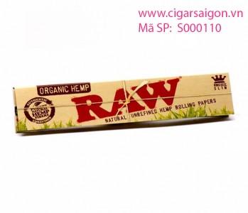 Giấy cuốn thuốc lá Raw Organic Hemp Kingsize Slim