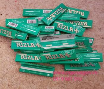 Giấy cuốn thuốc lá Green Rizla