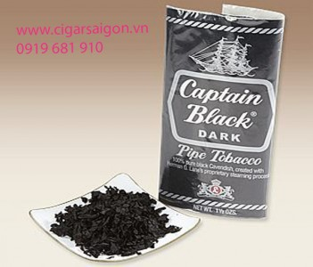 Thuốc hút tẩu Captain Black Dark