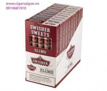 Xì gà Swisher Slim hương vị Mỹ