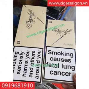 thuốc lá davidoff gold slims ( davidoff cây ngắn1)