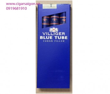 Xì Gà Villiger Blue Tube Cuban Cigar -Hộp 3 điếu