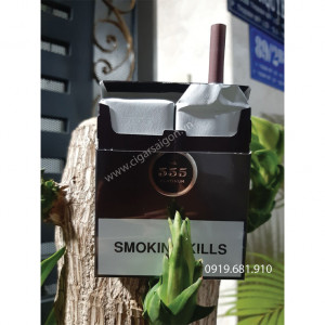 Thuốc Lá 555 Platinum Nâu (Singapore), Thuốc lá 3 số, thuốc lá ba số