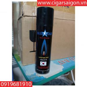 Bình gas bơm bật lửa Blue star