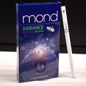 Thuốc lá Mond Variance Applemint Menthol, Mon bấm tím