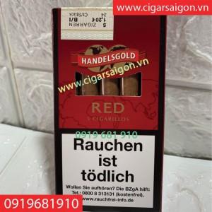 Xì gà Handelsgold Red cherry gói 5 điếu( nội địa đức)