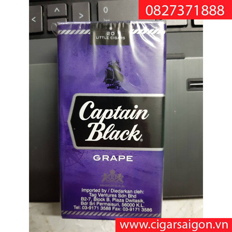 Xì gà Captain Black Grape Little Cigars